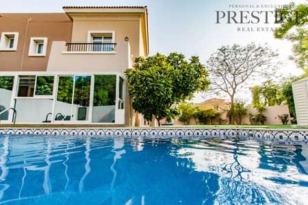تاون هاوس 3 غرف نوم للبيع في المرابع العربية، دبي - Large Plot   Private Pool   Upgraded 3E