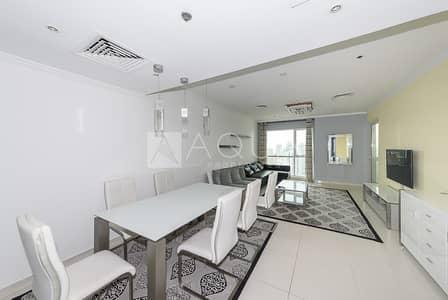 فلیٹ 1 غرفة نوم للايجار في أبراج بحيرات الجميرا، دبي - Fully Furnished 1 Bedroom with Huge Balcony