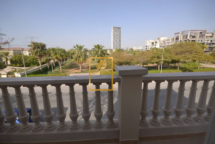Amazing Park Facing  -  Five Bedroom Hall Nakheel  Villa For Rent