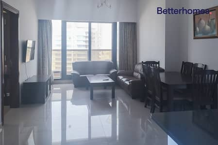 Fully furnished| Partial Golf Course View| 4 chqs