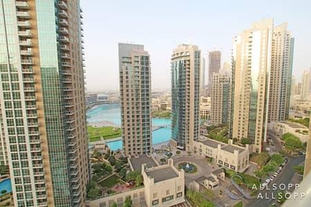 فلیٹ 2 غرفة نوم للايجار في وسط مدينة دبي، دبي - 2 Bedroom | Large Balcony | Fountain View