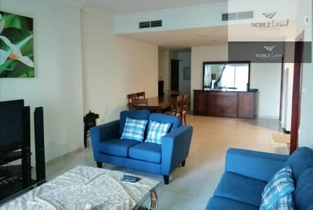 شقة 1 غرفة نوم للايجار في دبي مارينا، دبي - Fully Furnished | Vacant | Partial Sea View