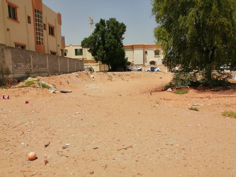 Land for sale with a great location in Al Mowaihat 2