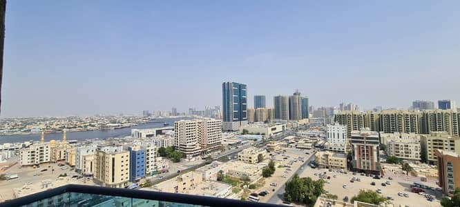 3 Bedroom Apartment for Sale in Ajman Downtown, Ajman - SEA VIEW !!  HUGE 3BHK FOR SLAE IN FALCON TOWER