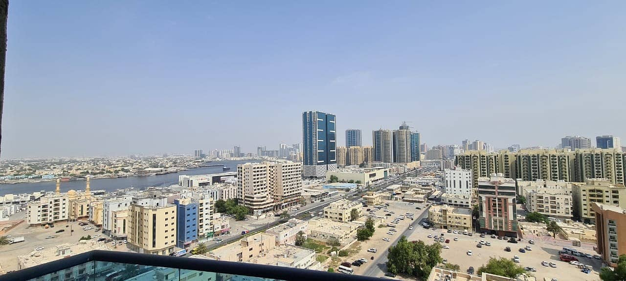 SEA VIEW !!  HUGE 3BHK FOR SLAE IN FALCON TOWER