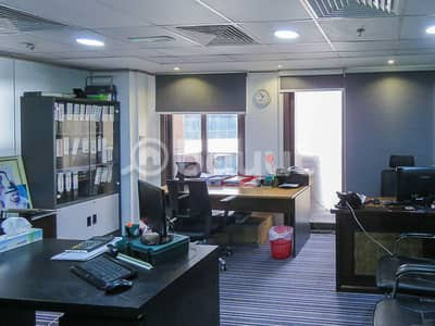 Office for Rent in Al Garhoud, Dubai -  Dubai ( 24 hrs secured access)