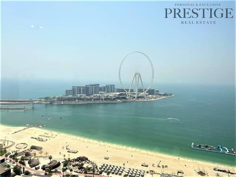 1 Full Sea View |3Bed +Maid | Fully Furnished |Rimal
