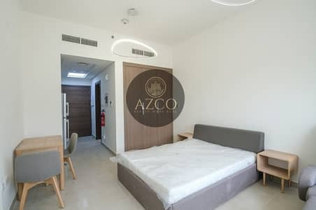 Huge Furnished Studio with Balcony and Car Parking