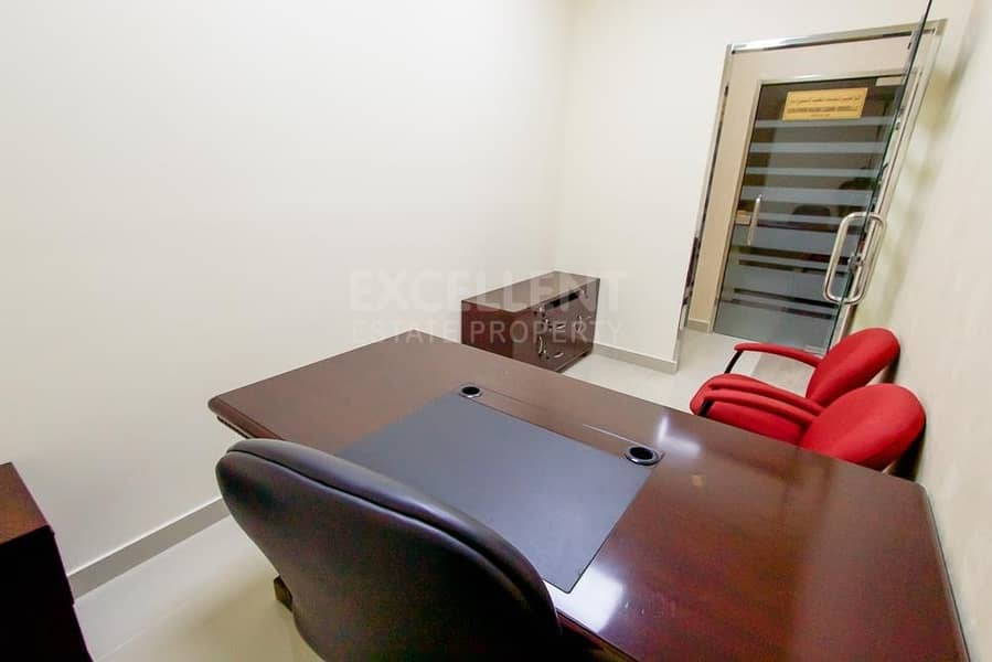 2 Short Term Contract |Exclusive Offer for Semi Fitted Offices Space