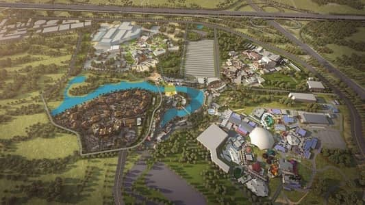 Huge Residential Plots next to Dubai Parks & Resorts