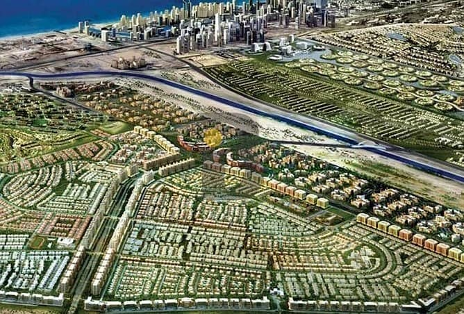 3 Residential Plots Available next to Dubai Parks & Resorts