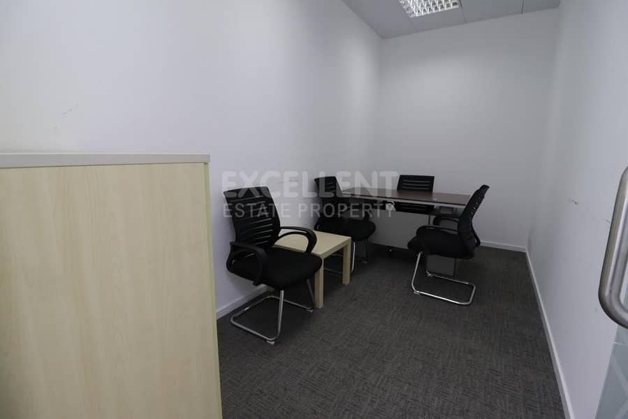 Grab Now this Perfectly New Semi Furnished Office