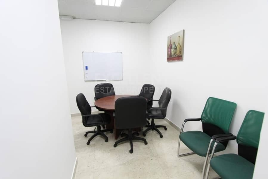 10 Grab Now this Perfectly New Semi Furnished Office