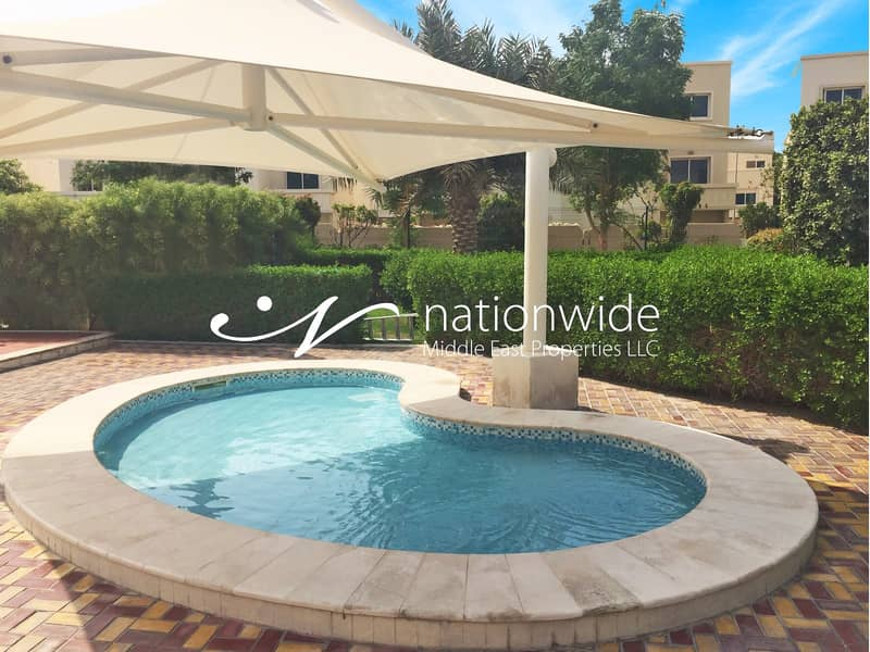 16 Spacious Ground Floor 3 BR Apartment with Rental Back In Al Reef