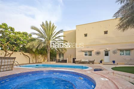 6 Bedroom Villa for Rent in The Meadows, Dubai - Exclusive | 6 Bedrooms | Swimming Pool + Jacuzzi