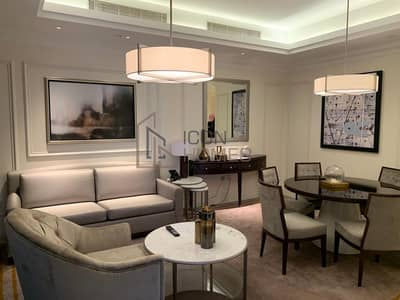 LUXURIOUS FULLY FURNISHED 2BR|HIGH FLOOR