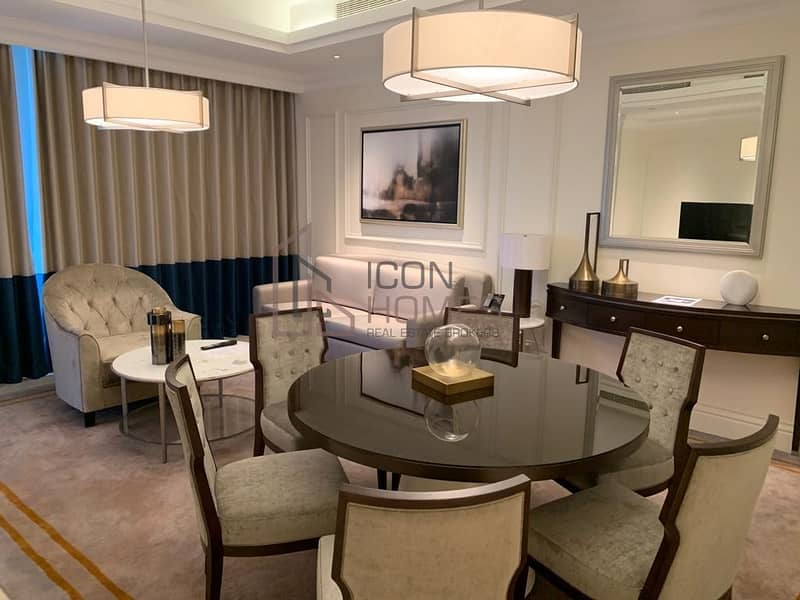 2 LUXURIOUS FULLY FURNISHED 2BR|HIGH FLOOR