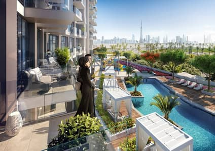 1 Bedroom Flat for Sale in Bur Dubai, Dubai - Pay 1400 AED Monthly | Over Creek View I Off Plan Project | No Commission