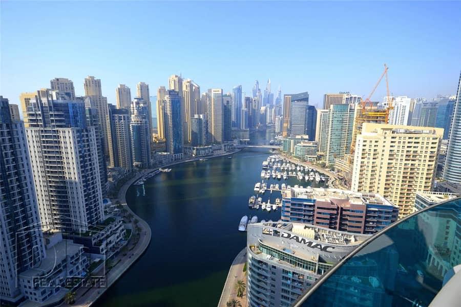 2 Marina Views | High Floor | Furnished |