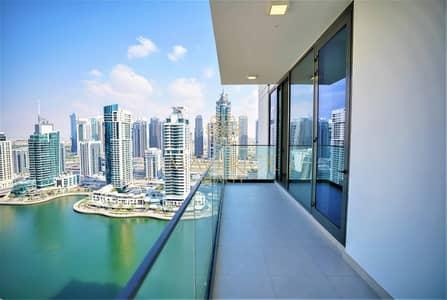 2 Bedroom Flat for Rent in Dubai Marina, Dubai - Marina View | Spacious 2BR+Maids/R | High-End