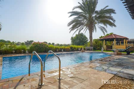 6 Bedroom Villa for Sale in Arabian Ranches, Dubai - Upgraded 6 Bed | Golf Course View | Private Pool