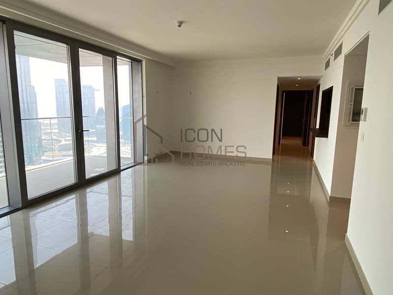 Brand New | Full Burj Khalifa and Partial Fountain View | High Floor | 3 Bedroom | Amazing Price | Boulevard Point