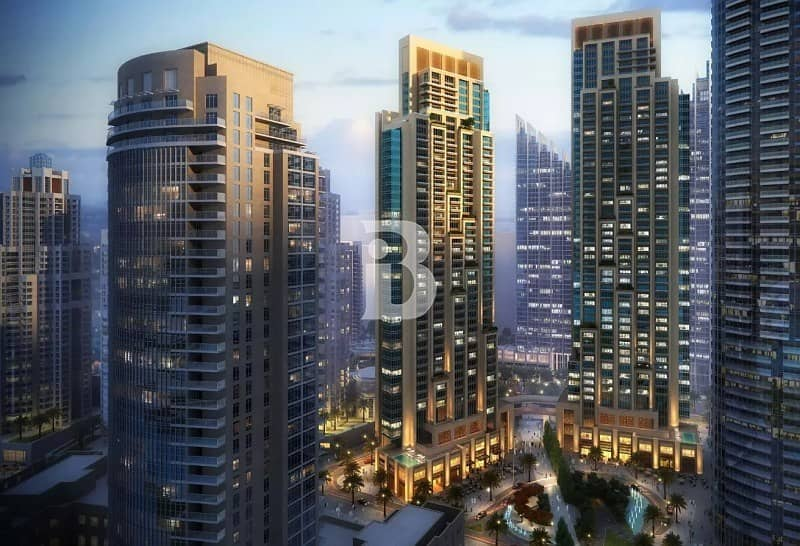 2 Act 1& 2 Emaar the last available in the heart of Downtown