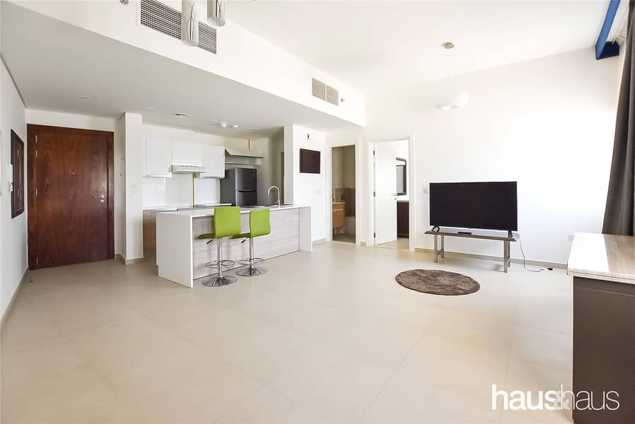 9 High Floor | Furnished 1 Bed | Golf Views