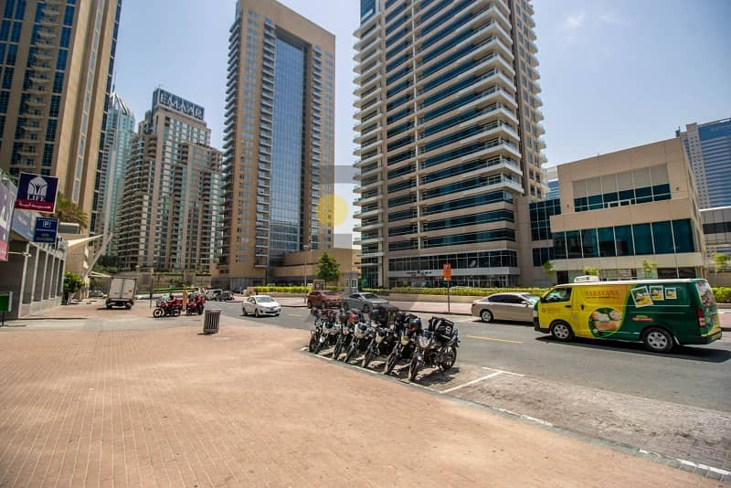 2 Fitted office space/retail in Marina Walk near JBR