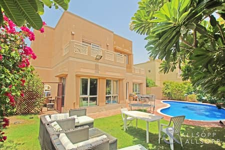 6 Bedroom Villa for Sale in The Meadows, Dubai - Type 9 | 6 Beds | Lake View | Private Pool
