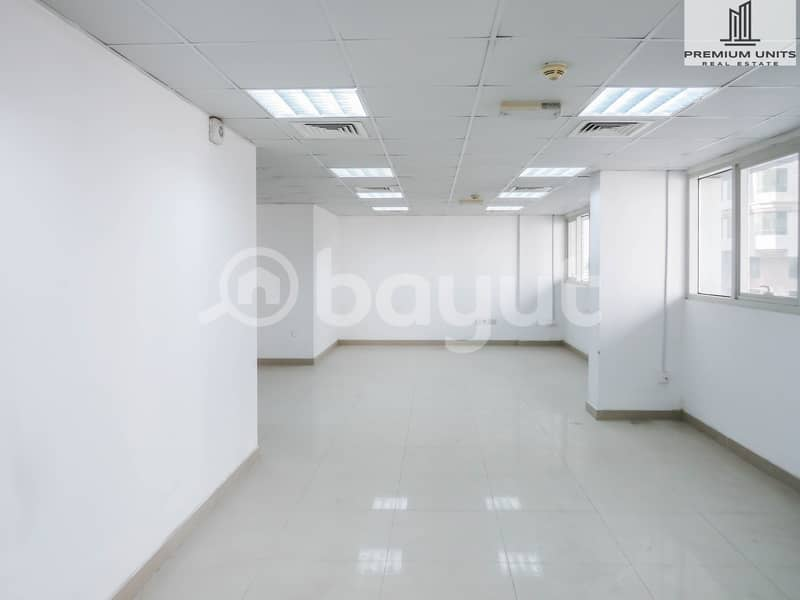 2 AMAZING OFFER- Office for rent  with excellent price - 1 MONTH FREE WITH NO COMMISSION (Shabiya-9))