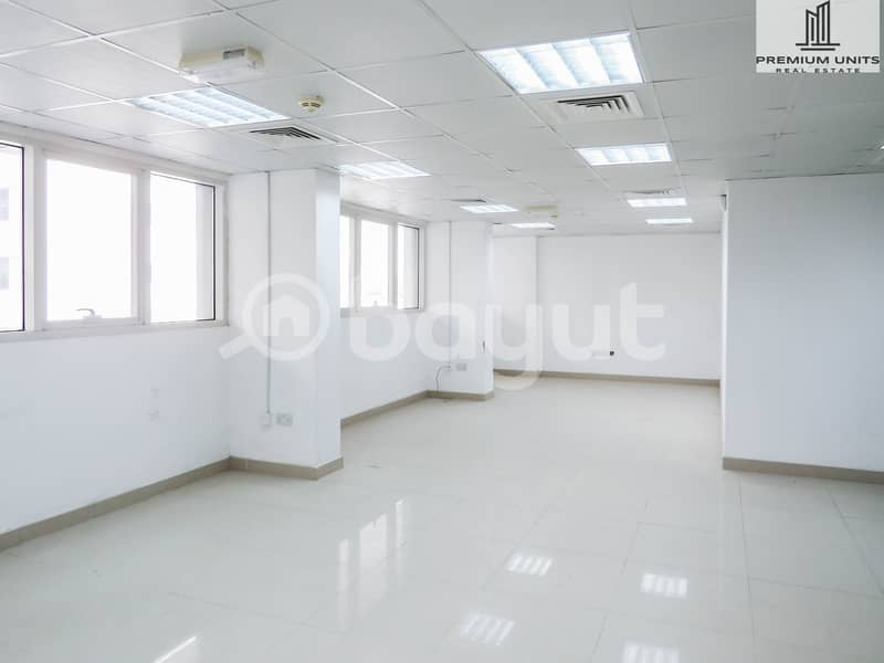 AMAZING OFFER- Office for rent  with excellent price - 1 MONTH FREE WITH NO COMMISSION (Shabiya-9))