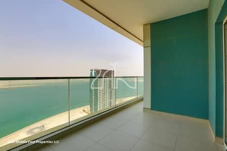 2 Bedroom Flat for Sale in Al Reem Island, Abu Dhabi - Hot Deal Sea View 2+M Apt Great Layout with Balcony