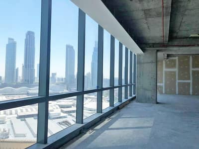 Office for Sale in Downtown Dubai, Dubai - Large Shell and Core office with 9 parkings