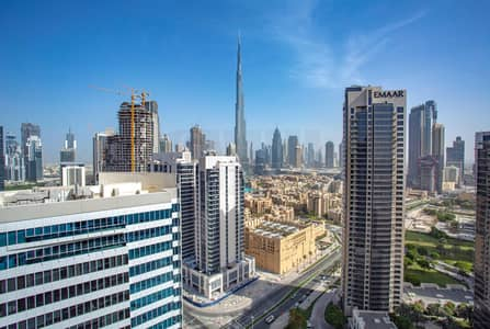 2 Bedroom Apartment for Sale in Business Bay, Dubai - Burj Khalifa View | 20% Down Payment Rent to Own