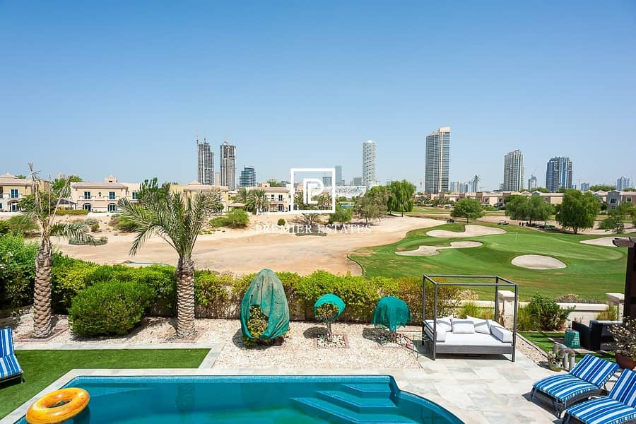 2 Superb 5 Bedroom with Pool and Golf Course views