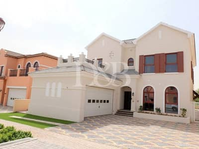 4 Bedroom Villa for Rent in Jumeirah Golf Estate, Dubai - Fully Furnished | Golf Views | Clubmembership