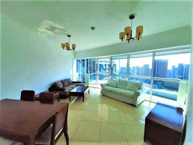 Furnished | 25th floor  | Next to the Metro
