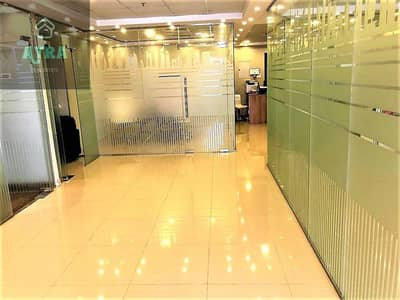 Office for Sale in Jumeirah Village Circle (JVC), Dubai - BEST DEAL FOR INVESTORS l PRIME ACCESSIBLE LOCATION l RENTED 60K l SPACIOUS FURNISHED OFFICE SPACE