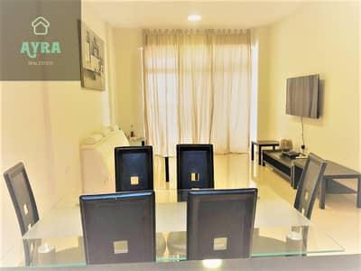 فلیٹ 1 غرفة نوم للبيع في قرية جميرا الدائرية، دبي - WITH 2 YEARS PAYMENT PLAN! LUXURIOUS FURNISHED ONE BEDROOM PLUS MAID'S ROOM @ PRESTIGIOUS BUILDING!!