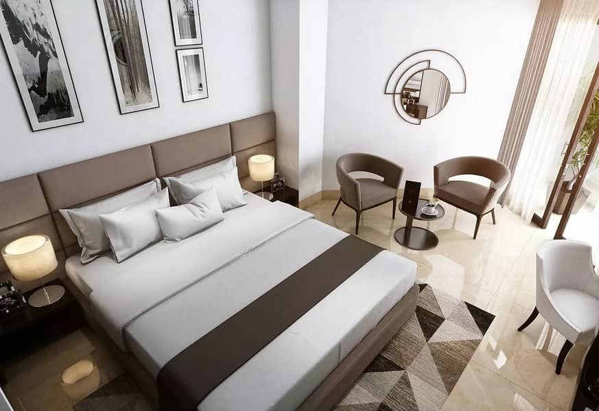 Luxury Apartment   l  Guaranteed  8%  ROI   l   5 Years  Flexible  Post Handover Payment Plan