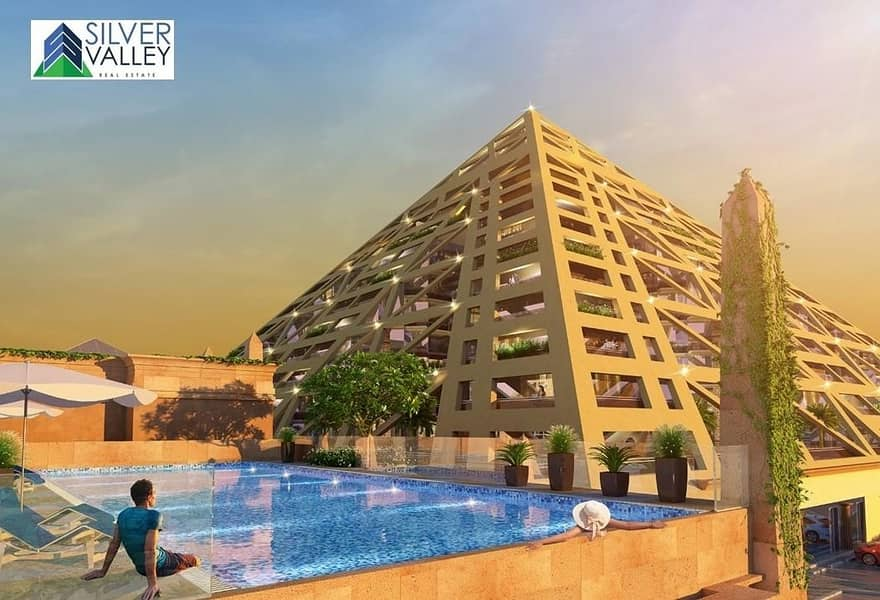 2 Luxury Apartment   l  Guaranteed  8%  ROI   l   5 Years  Flexible  Post Handover Payment Plan
