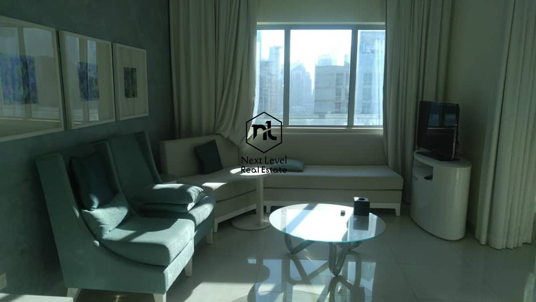 mall street fully furnished hotel apartment nice view in 01 to 06 cheques
