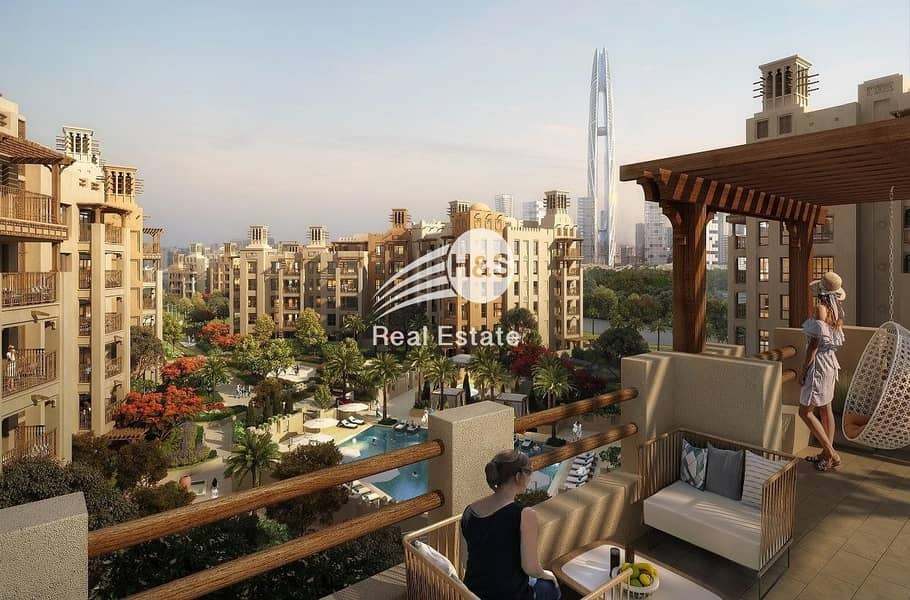2 Burj Al Arab View I Flexible Payment Plan I Asayel