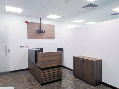 Office for Rent in Business Bay, Dubai - Fully Fitted | with Glass Partitioned | Business Bay
