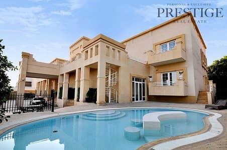 فیلا 8 غرف نوم للايجار في البدع، دبي - High End Villa   8 Beds   Road facing