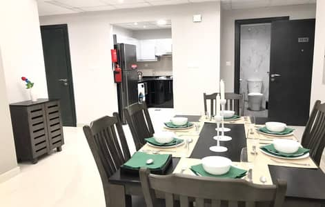 Upgraded Brand New Fully Furnished 4 BR Apt With Burj Khalifa and Canal View