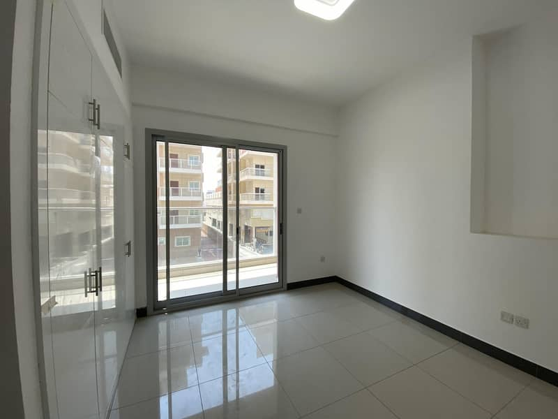 2 BEAUTIFUL BRAND new 2 bedroom with store room beautiful view for rent in phase 2 warsan 4