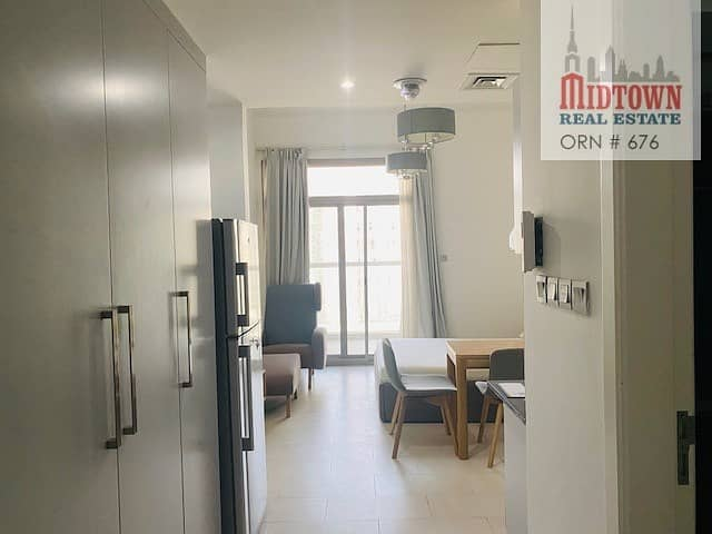 2  Pay monthly AED 2333/- for a chiller free  furnished studio in al furjan