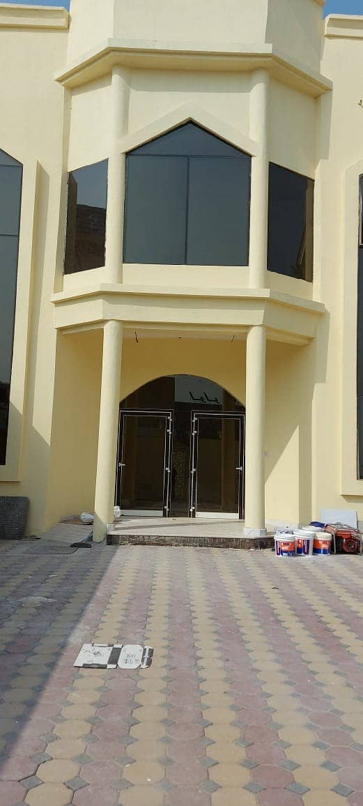 BRAND NEW - Double story 6 bedroom hall villa for rent in Al Hazannah